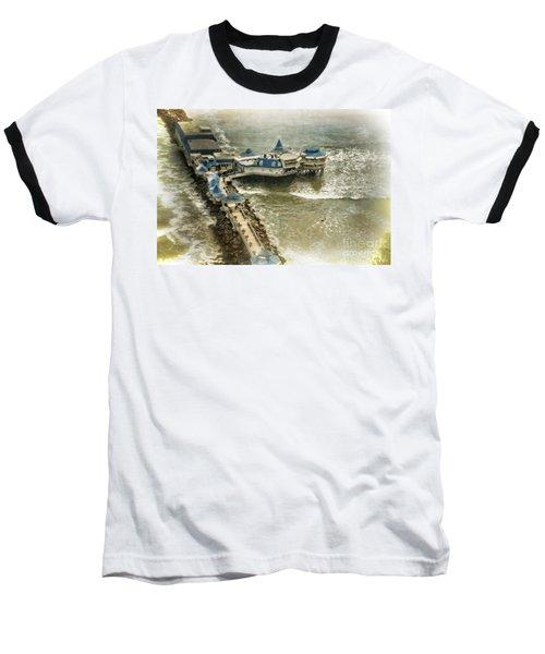Baseball T-Shirt featuring the photograph La Rosa Nautica - Peru by Mary Machare