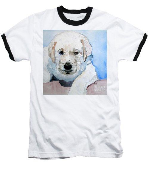 Lab Puppy Baseball T-Shirt