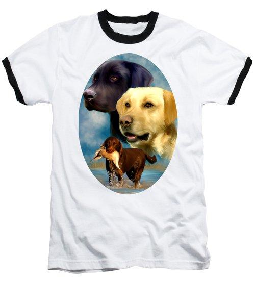 Labrador Retrievers Baseball T-Shirt