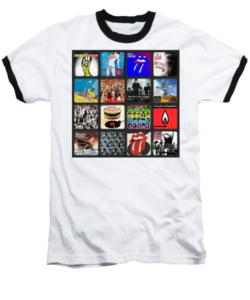 Ladies And Gentlmen The Rolling Stones Baseball T-Shirt
