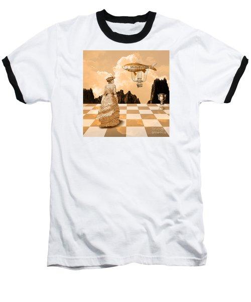 Lady Baseball T-Shirt by Alexa Szlavics