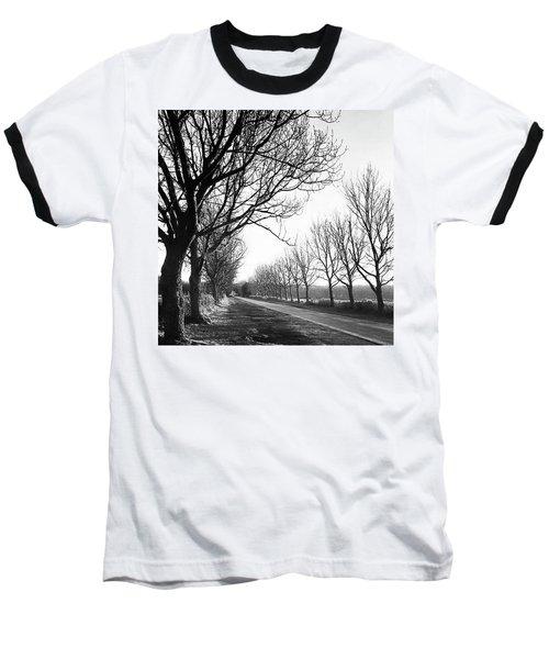 Lady Anne's Drive, Holkham Baseball T-Shirt by John Edwards