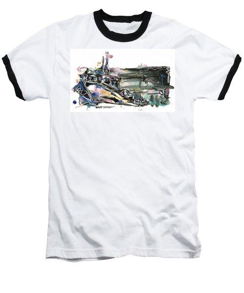 Baseball T-Shirt featuring the painting Lady Sherbert by Robert Joyner