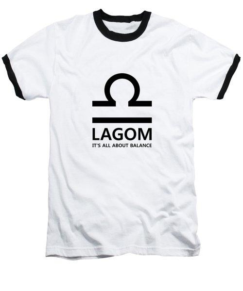 Lagom - Balance Baseball T-Shirt