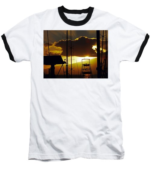 Lahaina Sunsets 5 Baseball T-Shirt