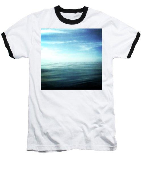 Lake And Sky Baseball T-Shirt