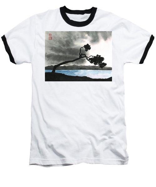 Lake Kussharo Baseball T-Shirt