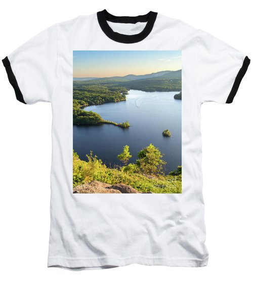 Lake Megunticook, Camden, Maine  -43960-43962 Baseball T-Shirt