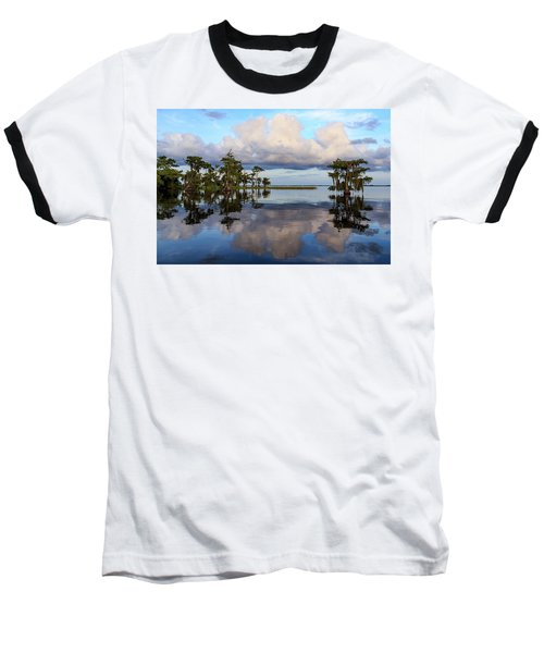 Lake Mirror Baseball T-Shirt