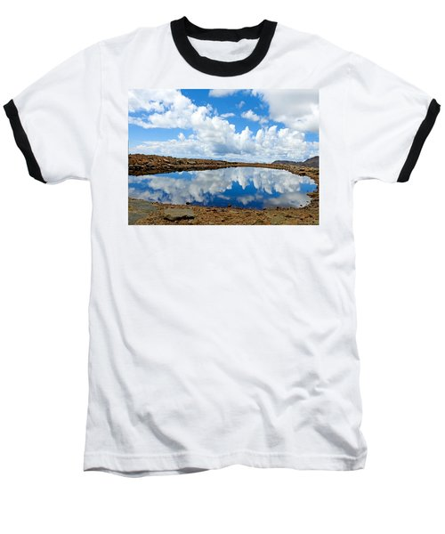 Lake Of The Sky Baseball T-Shirt