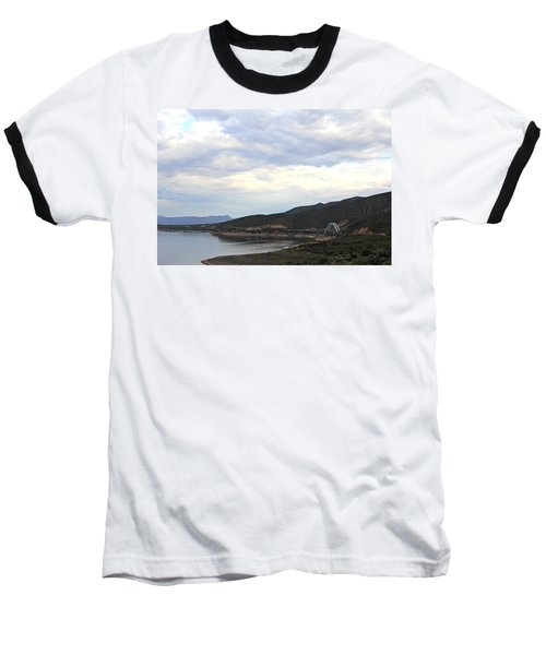 Lake Roosevelt Bridge 1 Baseball T-Shirt