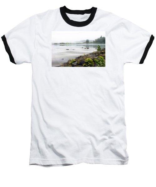 Lake Superior Baseball T-Shirt by Ed Hall