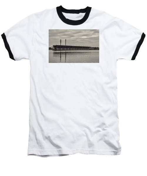 Lake Superior Oar Dock Baseball T-Shirt