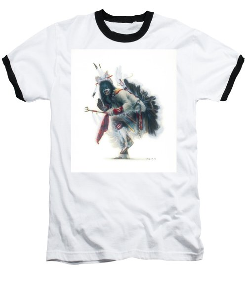Lakota Dancer Baseball T-Shirt