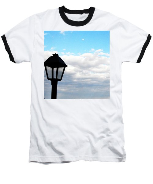 Lamp Post Baseball T-Shirt