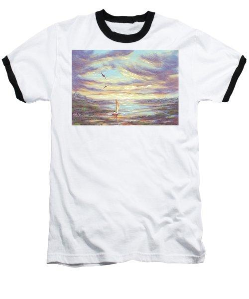Land Escape Baseball T-Shirt