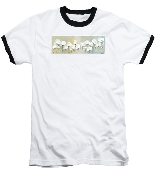 Land Of Cotton Baseball T-Shirt by Kirsten Reed