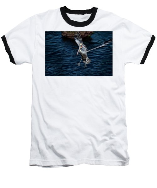 Landing 2 Baseball T-Shirt by James David Phenicie