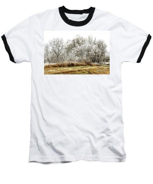 Landscape In Winter Baseball T-Shirt