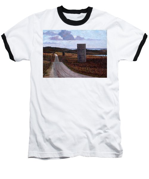Landscape With Silos Baseball T-Shirt