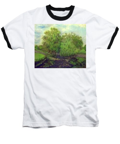 Landscape With Trees Baseball T-Shirt