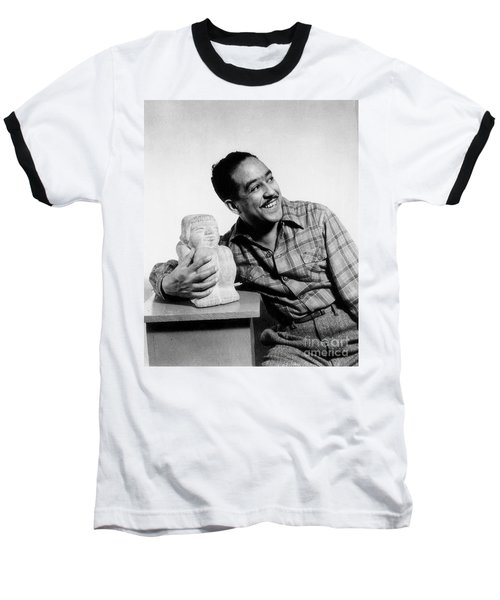 Langston Hughes (1902-1967) Baseball T-Shirt