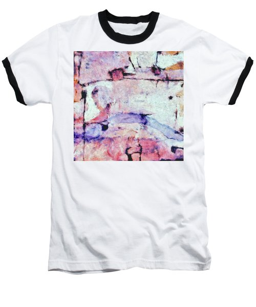 Baseball T-Shirt featuring the painting Laredo by Dominic Piperata