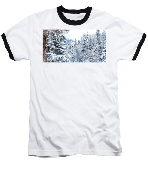 Last Cabin Standing- Baseball T-Shirt