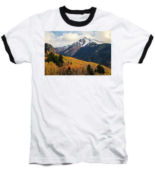 Baseball T-Shirt featuring the photograph Last Light Of Autumn by David Chandler