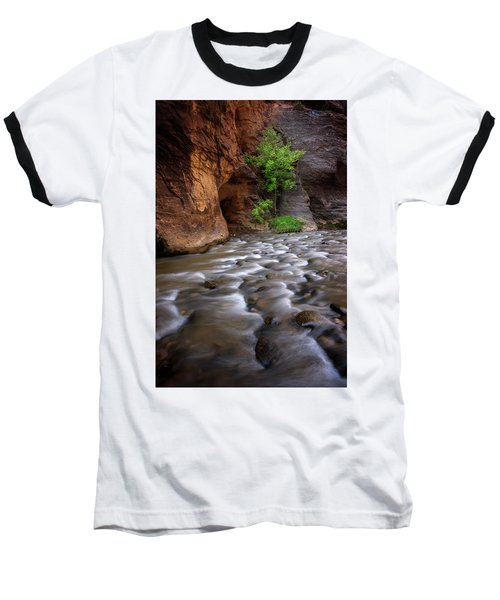 Last Stand Baseball T-Shirt by Dustin LeFevre
