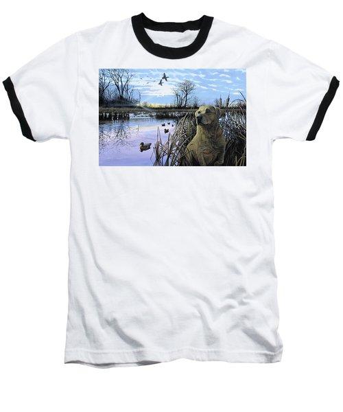 Late Season Mallards Baseball T-Shirt