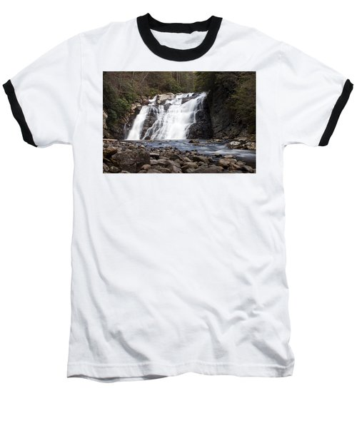 Laurel Falls In Spring #1 Baseball T-Shirt by Jeff Severson