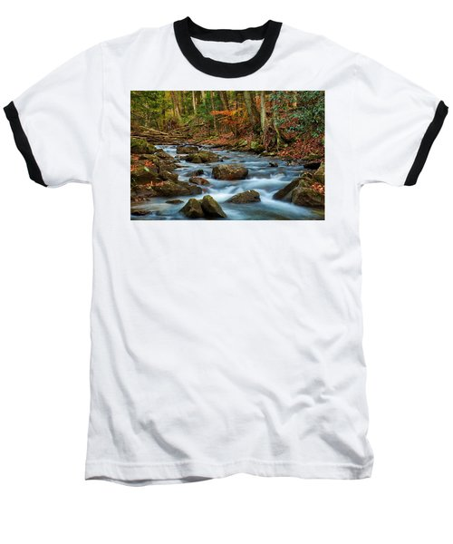 Laurel Fork In The Fall Baseball T-Shirt