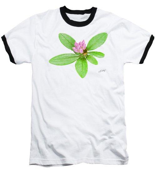 Laurel In Pink Baseball T-Shirt
