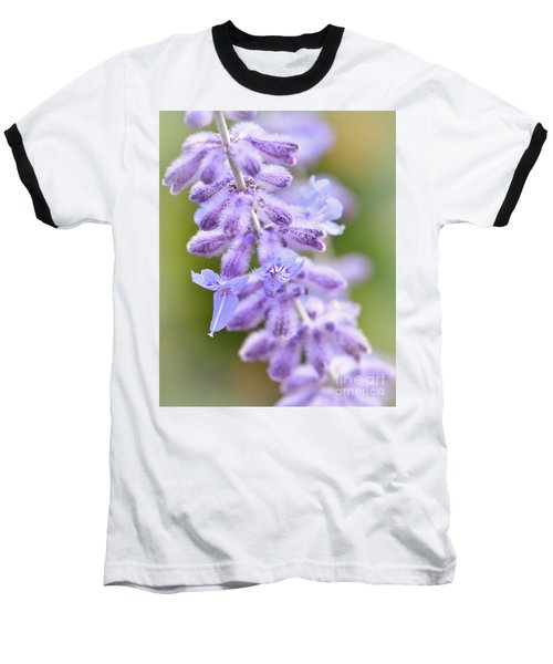 Baseball T-Shirt featuring the photograph Lavender Blooms by Kerri Farley