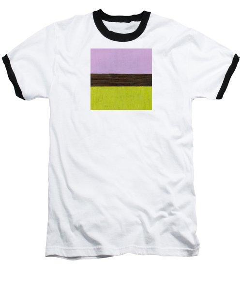 Lavender Brown Olive Baseball T-Shirt