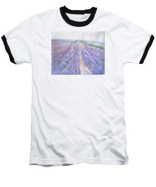 Lavender Fields Provence-france Baseball T-Shirt