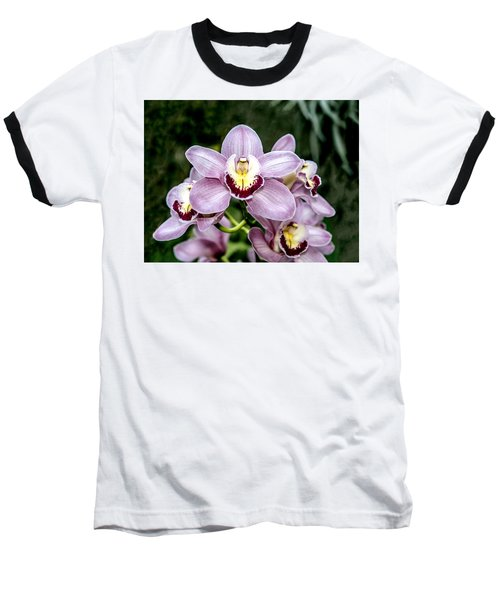 Lavender Orchid Baseball T-Shirt