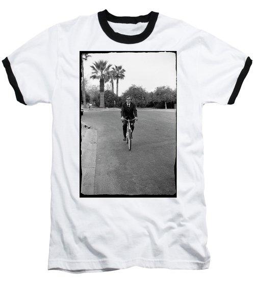 Lawyer On A Bicycle, 1971 Baseball T-Shirt