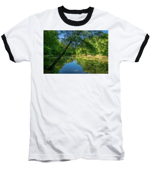 Lazy Summer Day On The River Baseball T-Shirt