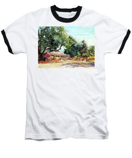 Lbj Grasslands Tx Baseball T-Shirt by Ron Stephens