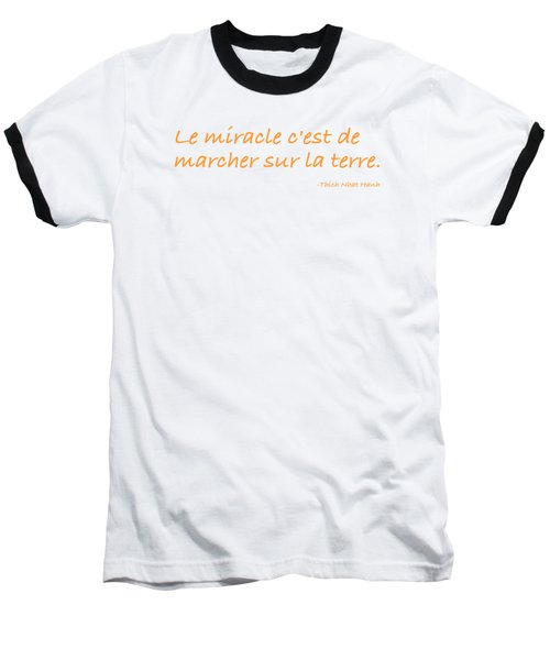 Le Miracle Baseball T-Shirt by Julie Niemela