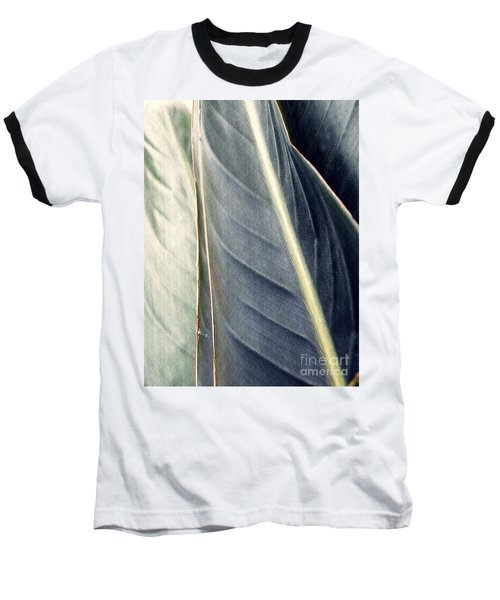 Leaf Abstract 14 Baseball T-Shirt