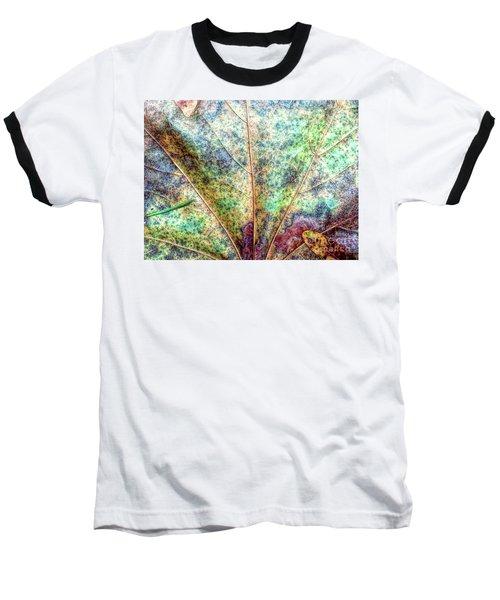 Leaf Terrain Baseball T-Shirt by Todd Breitling