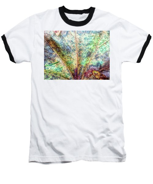 Leaf Terrain Baseball T-Shirt