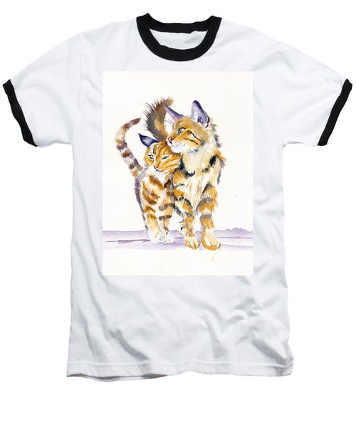Lean On Me Baseball T-Shirt