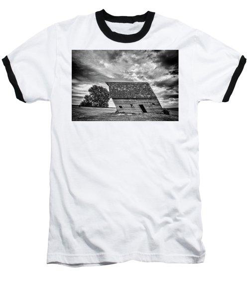 Leaning Barn Of Tuttle Baseball T-Shirt
