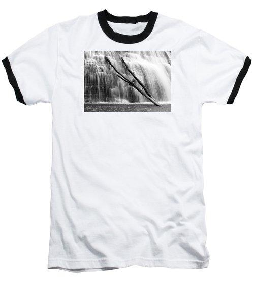 Leaning Falls Baseball T-Shirt