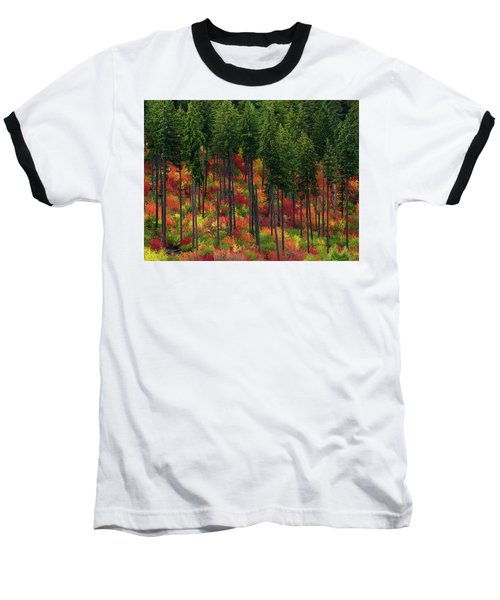 Leavenworth Checkerboard Baseball T-Shirt
