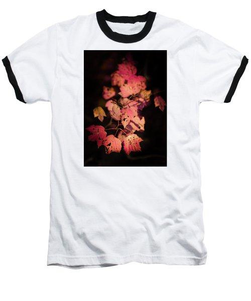Leaves Of Surrender Baseball T-Shirt by Karen Wiles
